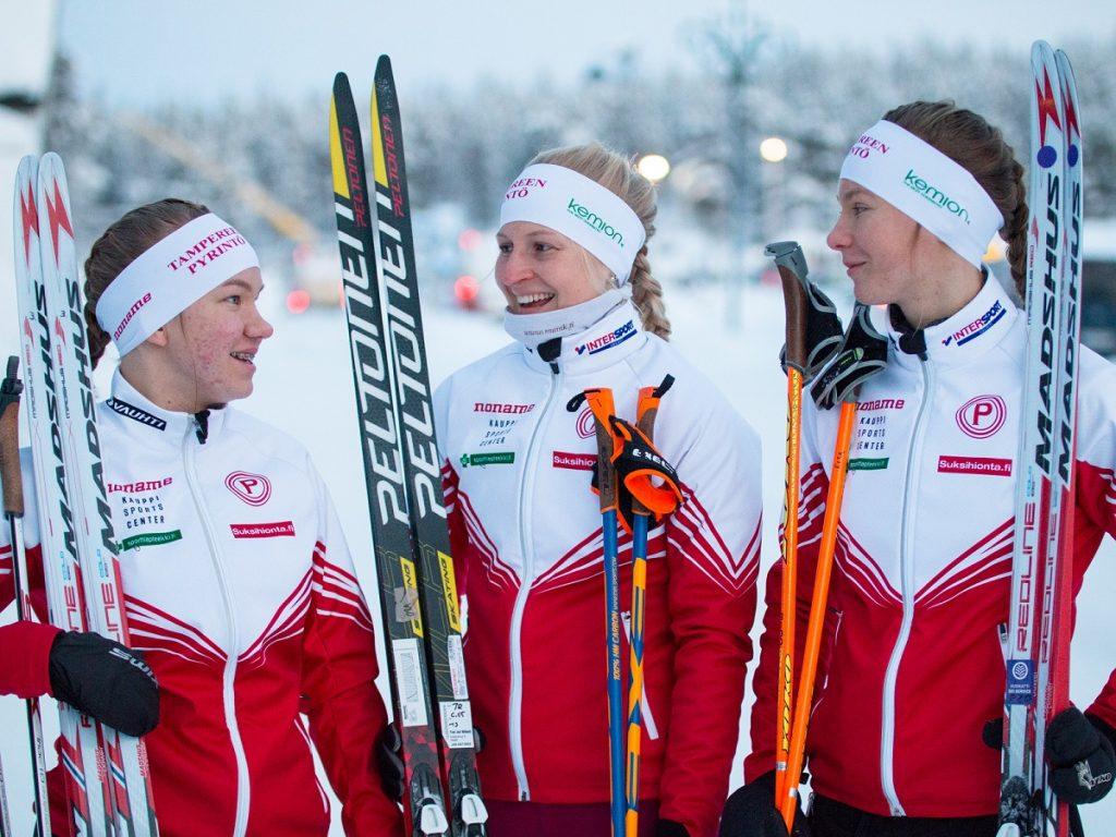 Pyrinnön naisten hiihtojoukkue